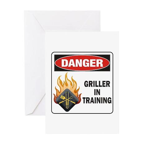 Griller Greeting Card