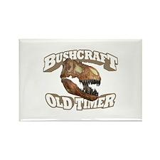 Bushcraft Old Timer Rectangle Magnet