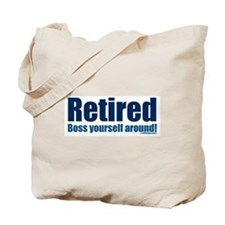 Unique Retiring Tote Bag