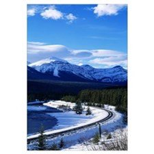 Canada, Alberta, Banff National Park, winter
