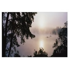 Fog Squam Lake NH
