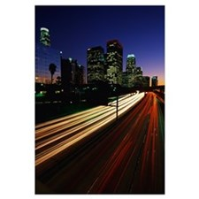 Rush Hour Harbor Freeway Los Angeles CA