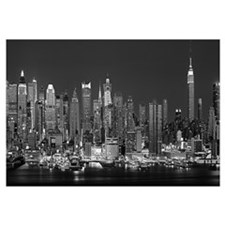 New York, New York City, Panoramic view of the Wes