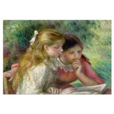 The Reading, c.1890 95 (oil on canvas) (see also 1