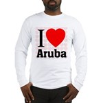I Love Aruba Long Sleeve T-Shirt