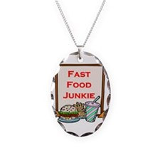 Fast Food Junkie Necklace