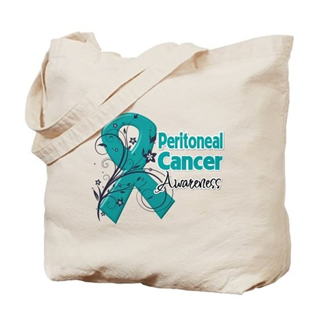 Peritoneal Cancer Tote Bag
