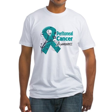 Peritoneal Cancer Fitted T-Shirt