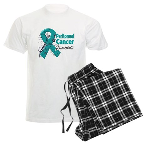 Peritoneal Cancer Men's Light Pajamas