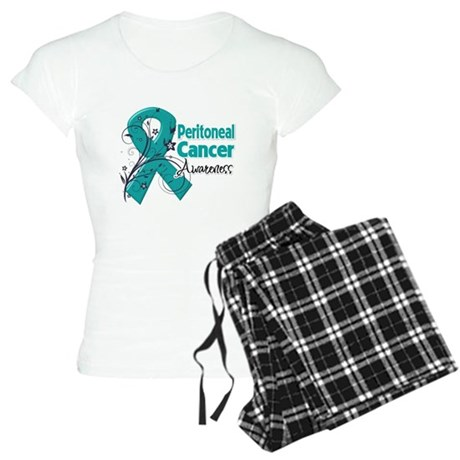 Peritoneal Cancer Women's Light Pajamas