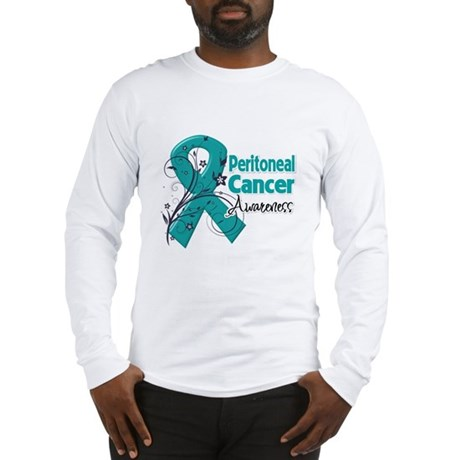 Peritoneal Cancer Long Sleeve T-Shirt