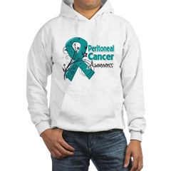 Peritoneal Cancer Hooded Sweatshirt