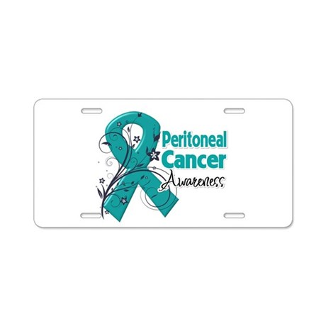 Peritoneal Cancer Aluminum License Plate