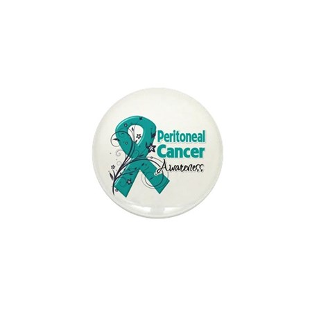 Peritoneal Cancer Mini Button