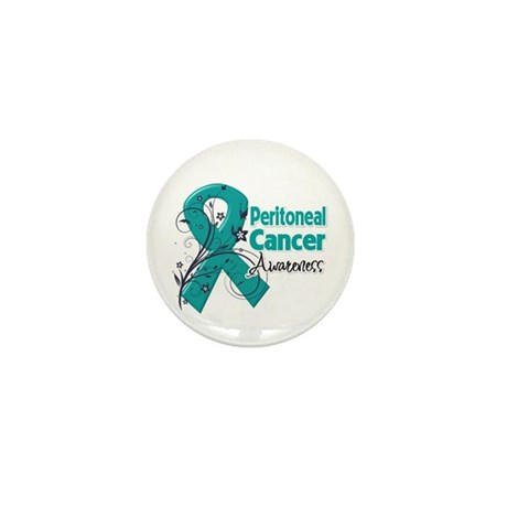 Peritoneal Cancer Mini Button (100 pack)