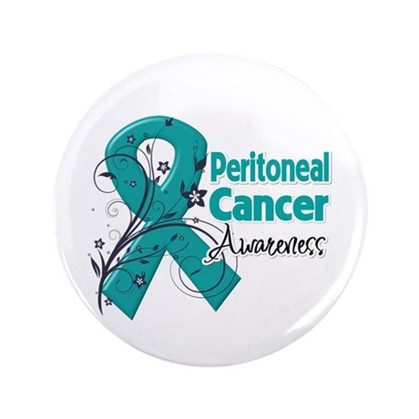 "Peritoneal Cancer 3.5"" Button (100 pack)"