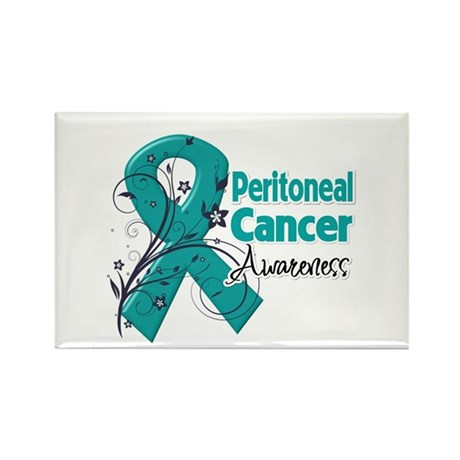 Peritoneal Cancer Rectangle Magnet