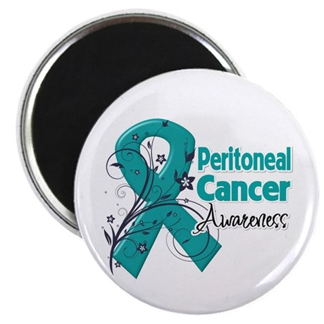 "Peritoneal Cancer 2.25"" Magnet (100 pack)"