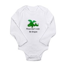 Sleeping Dragon Long Sleeve Infant Bodysuit