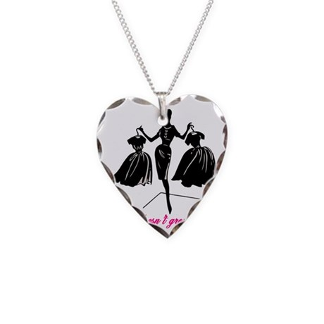 Couture Necklace Heart Charm
