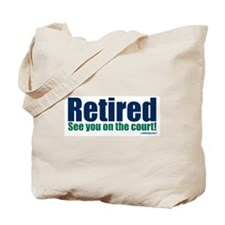 Unique Retirement Tote Bag