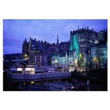 The Old Town Edinburgh Scotland