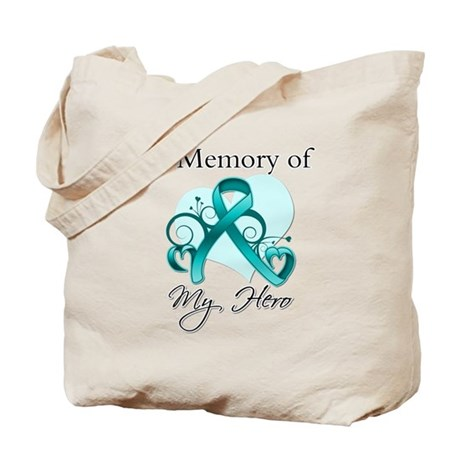 In Memory Peritoneal Cancer Tote Bag