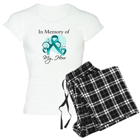 In Memory Peritoneal Cancer Women's Light Pajamas