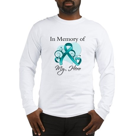 In Memory Peritoneal Cancer Long Sleeve T-Shirt