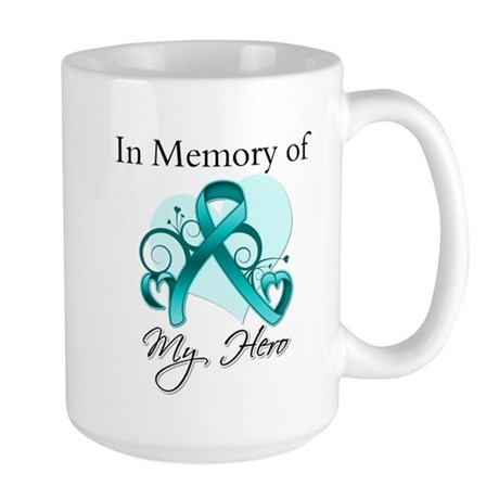 In Memory Peritoneal Cancer Large Mug