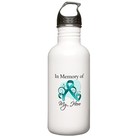 In Memory Peritoneal Cancer Stainless Water Bottle