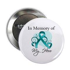 "In Memory Peritoneal Cancer 2.25"" Button (100 pack"