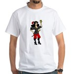 Pirate Queen White T-Shirt