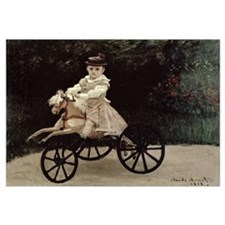 Jean Monet on his Hobby Horse, 1872 (oil on canvas