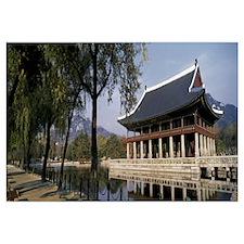 Kyonghoeru Kyungbok-gung Seoul South Korea