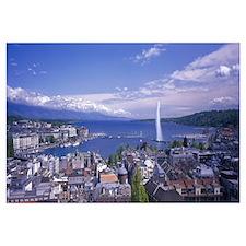 Lake Geneva Geneva Switzerland
