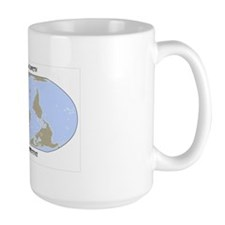 Upside Down Earth Mug