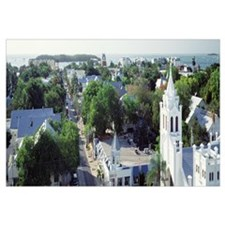 Florida, Key West, The Conch Republic, Aerial view