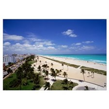 Florida, Miami, Ocean Drive and South Beach of Mia
