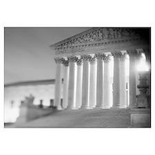 Night US Supreme Court Washington DC