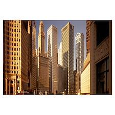 Cityscape Chicago IL