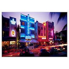 Ocean Drive South Beach Miami FL