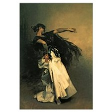 The Spanish Dancer, study for El Jaleo, 1882 (oil