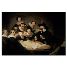The Anatomy Lesson of Dr. Nicolaes Tulp, 1632 (oil