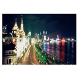 Evening Shanghai Bund China