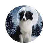 Border Collie Ornament #1