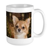 Holiday Chihuahua Ceramic Mugs