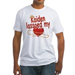 Kaiden Lassoed My Heart Fitted T-Shirt