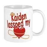 Kaiden Lassoed My Heart Mug