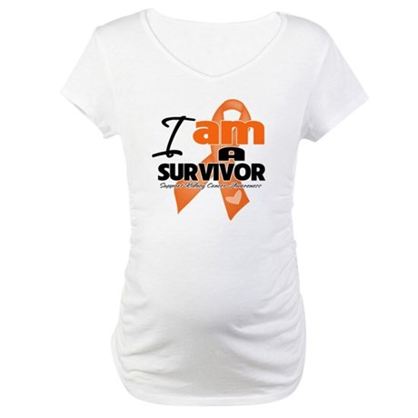Survivor Kidney Cancer Maternity T-Shirt